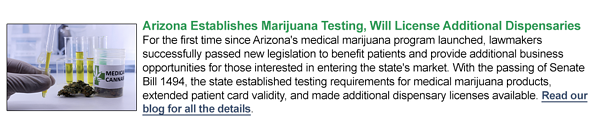 arizona medical marijuana business